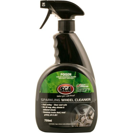 SCA Sparkling Wheel Cleaner - 750mL, , scaau_hi-res
