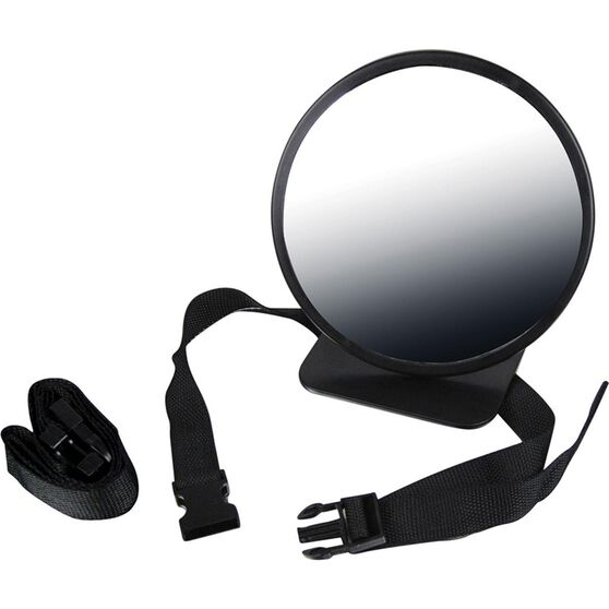 Little Car Baby View Mirror - Black, , scaau_hi-res