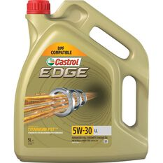 Castrol Edge Diesel DPF Engine Oil - 5W-30 LL 5 Litre, , scaau_hi-res