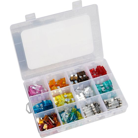 SCA Electrical Fuse Kit - Assorted, 228 Piece, , scaau_hi-res