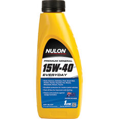 Nulon Premium Mineral Everyday Engine Oil 15W-40 1 Litre, , scaau_hi-res