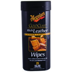 Meguiar's Gold Class Leather Wipes 25 Pack, , scaau_hi-res
