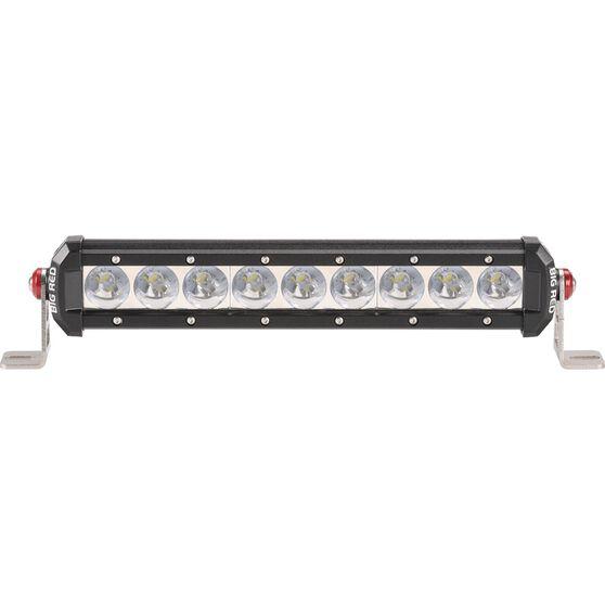 Big Red Driving Light Bar - 12 inch, 9 x 3W, LED, Single Spot, , scaau_hi-res