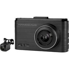 NanoCam Plus 1080P FHD Front and Rear Dash Cam NCP-DVRFHD2, , scaau_hi-res
