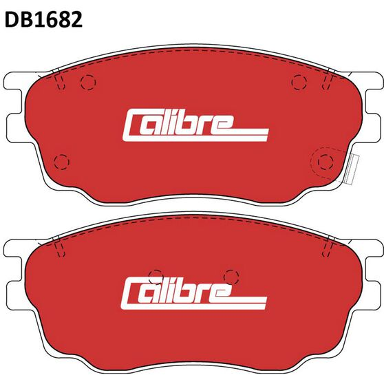 Calibre Disc Brake Pads DB1682CAL, , scaau_hi-res