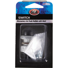 SCA HD 60A Momentary On Push Switch 16mm with Boot, , scaau_hi-res