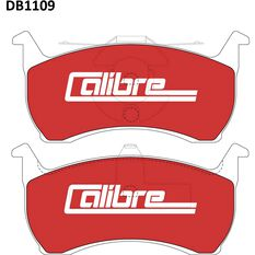 Calibre Disc Brake Pads DB1109CAL, , scaau_hi-res