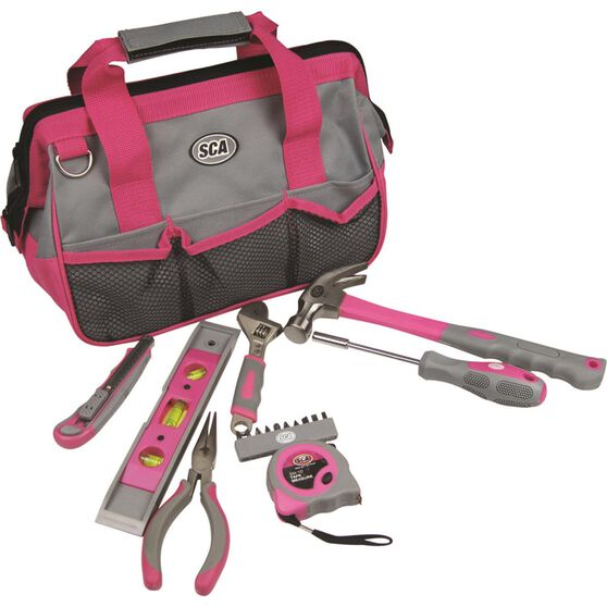 SCA Pink Tool Bag - 31 Piece, , scaau_hi-res
