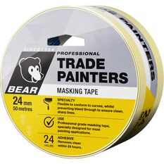 Trade Painters Masking Tape - 24mm x 50m, , scaau_hi-res