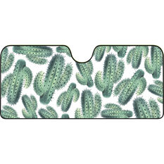 Cactus Sunshade - Fashion, Accordion, Front, , scaau_hi-res