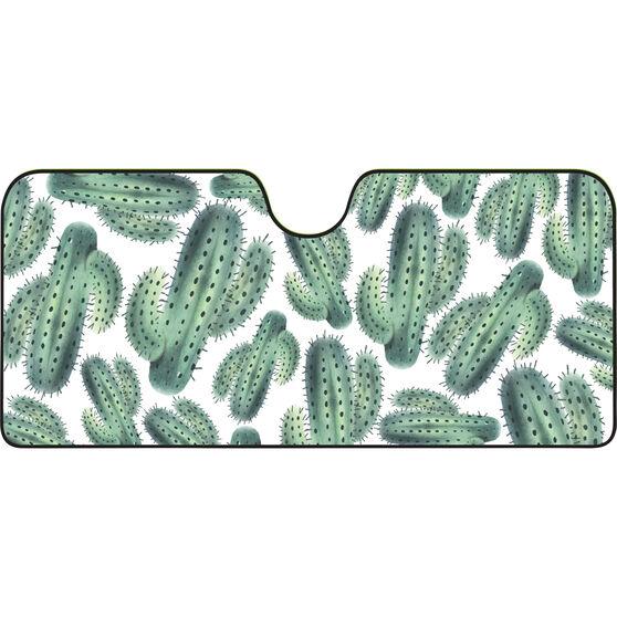 Cactus Sunshade - Fashion, Accordion, Front, , scaau_hi-res