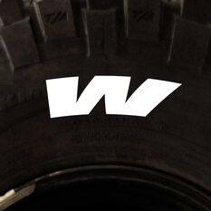 Letter W , 4 Pack, , scaau_hi-res