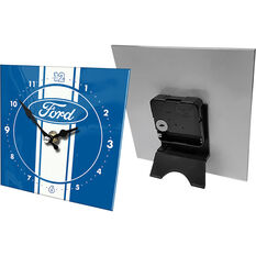 Official Licensed Ford Mini Glass Clock, , scaau_hi-res