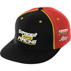 Supercheap Auto Racing 2019 Team Flat Peak Cap, , scaau_hi-res