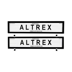 Altrex Number Plate Protector - 6 Figure European With Lines 6LE, , scaau_hi-res