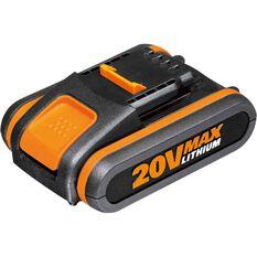 Worx Battery Pack - 2.0Ah, 20V Li-ion, , scaau_hi-res