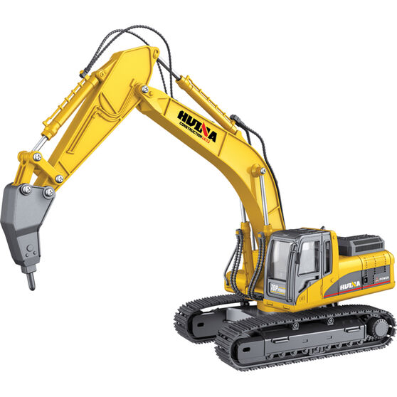 Die Cast Drill Excavator - 1:50 scale, , scaau_hi-res