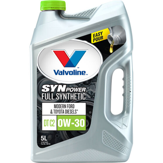 Valvoline Synpower Engine Oil - C2 0W-30, 5 Litre, , scaau_hi-res