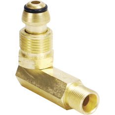 Gas Adaptor - POL To 3/8 LHT Right Angle, , scaau_hi-res