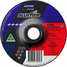 Norton Grinding Disc, Metal - 125mm  x  6.8mm  x  22mm, , scaau_hi-res