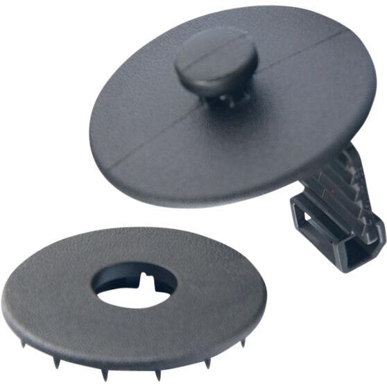 Champion Carpet Clips - Black, 3 Pack, , scaau_hi-res