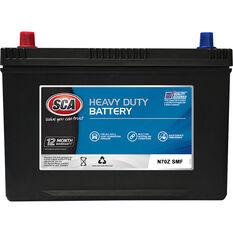 SCA Heavy Duty 4WD Battery N70Z MF, , scaau_hi-res