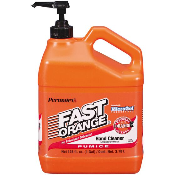 Permatex Fast Orange Hand Cleaner - 3.78 Litre, , scaau_hi-res