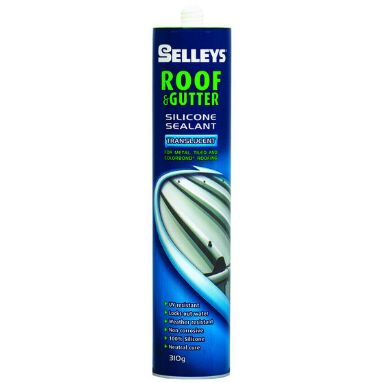 Roof & Gutter Sealant - Translucent, 310g, , scaau_hi-res