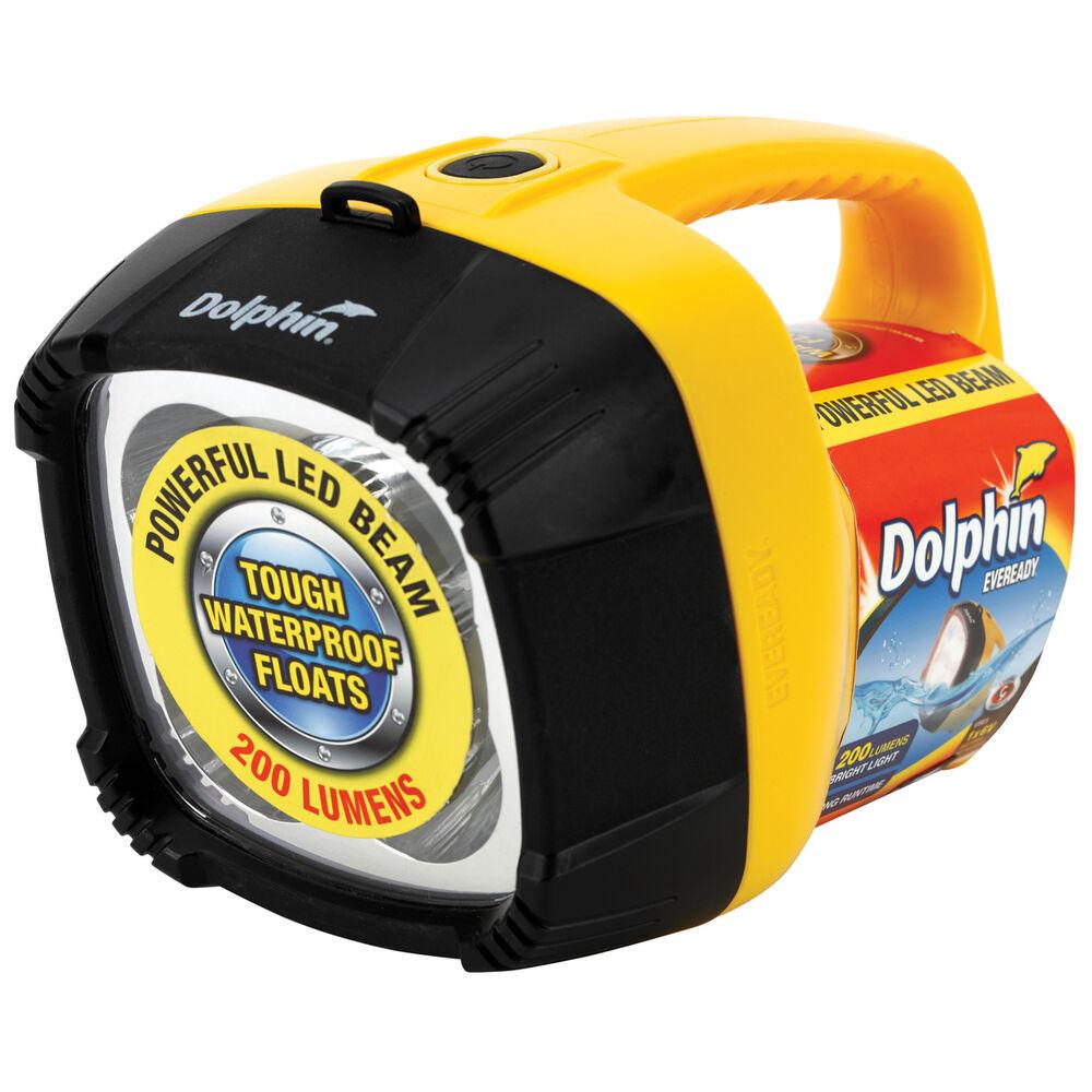 dolphin torch 4 led 6 volt supercheap auto. Black Bedroom Furniture Sets. Home Design Ideas