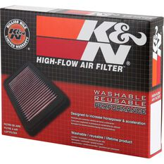 K&N Air Filter - 33-2036 (Interchangeable with A1266), , scaau_hi-res