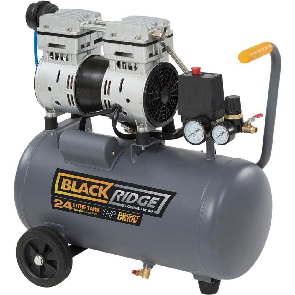 Blackridge Air Compressor Silent 1 0hp 50lpm Supercheap Auto