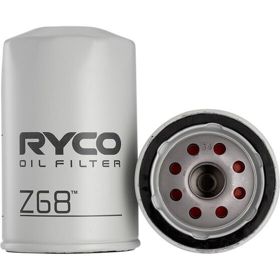 Ryco Oil Filter - Z68, , scaau_hi-res