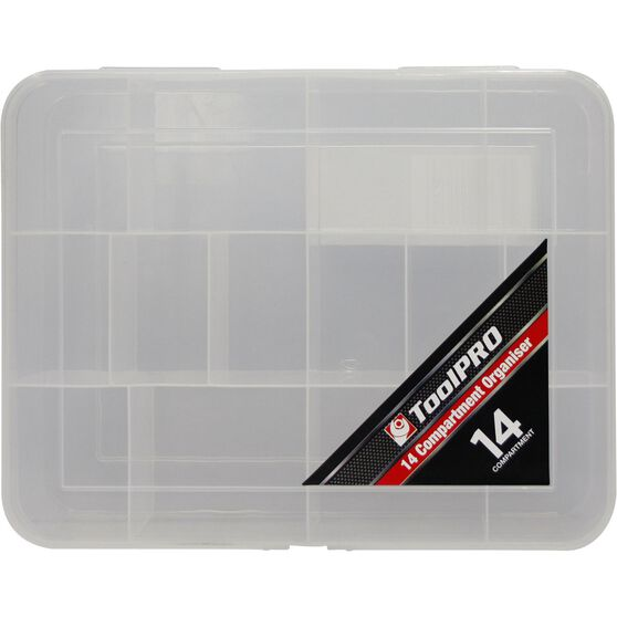 ToolPRO Organiser - 14 Compartment, , scaau_hi-res