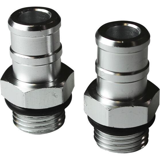 SAAS Catch Can Hose Fittings, 19mm Pair - HF1007, , scaau_hi-res