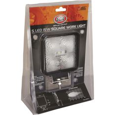 SCA Work Light - LED, 15W, Square, , scaau_hi-res