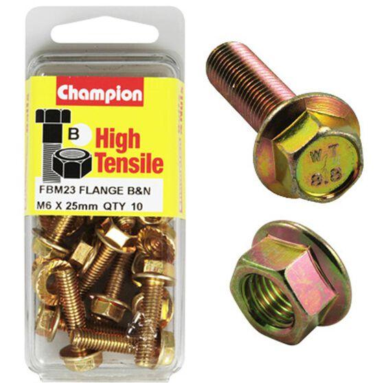 Flange Bolts - M6x25, High Tensile, , scaau_hi-res