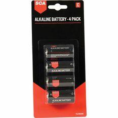 SCA Long Life Alkaline C Batteries - 4 Pack, , scaau_hi-res