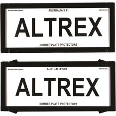 Altrex Number Plate Protector - 5 Figure, Clear, 5NL, , scaau_hi-res