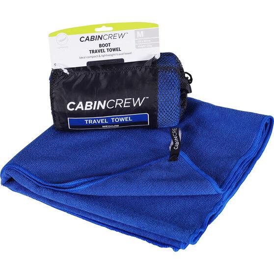 Cabin Crew Boot Towel - Dark Blue, , scaau_hi-res