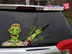 WiperTag Rear Window Blade Cover - Zombie, , scaau_hi-res