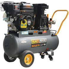 Blackridge Petrol Air Compressor Belt Drive 6.5HP 270LPM, , scaau_hi-res