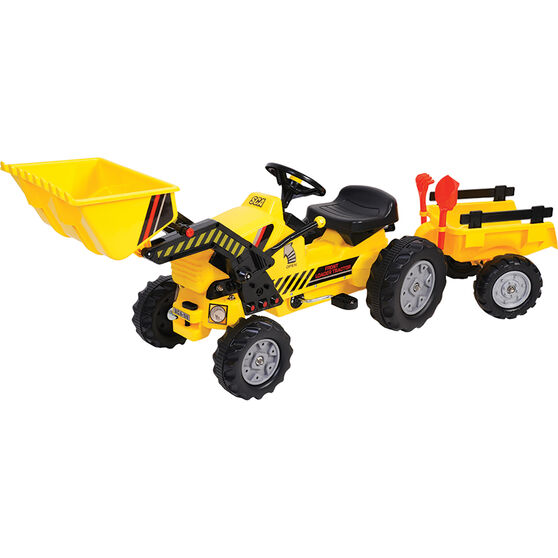 Pedal Tractor With Trailer, , scaau_hi-res