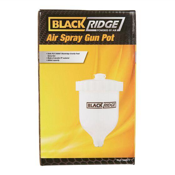 Blackridge Air Spray Gun Pot Suits W960, , scaau_hi-res