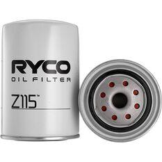 Ryco Oil Filter Z115, , scaau_hi-res