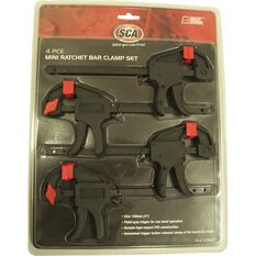 SCA Mini Bar Clamp - 4 Piece, , scaau_hi-res