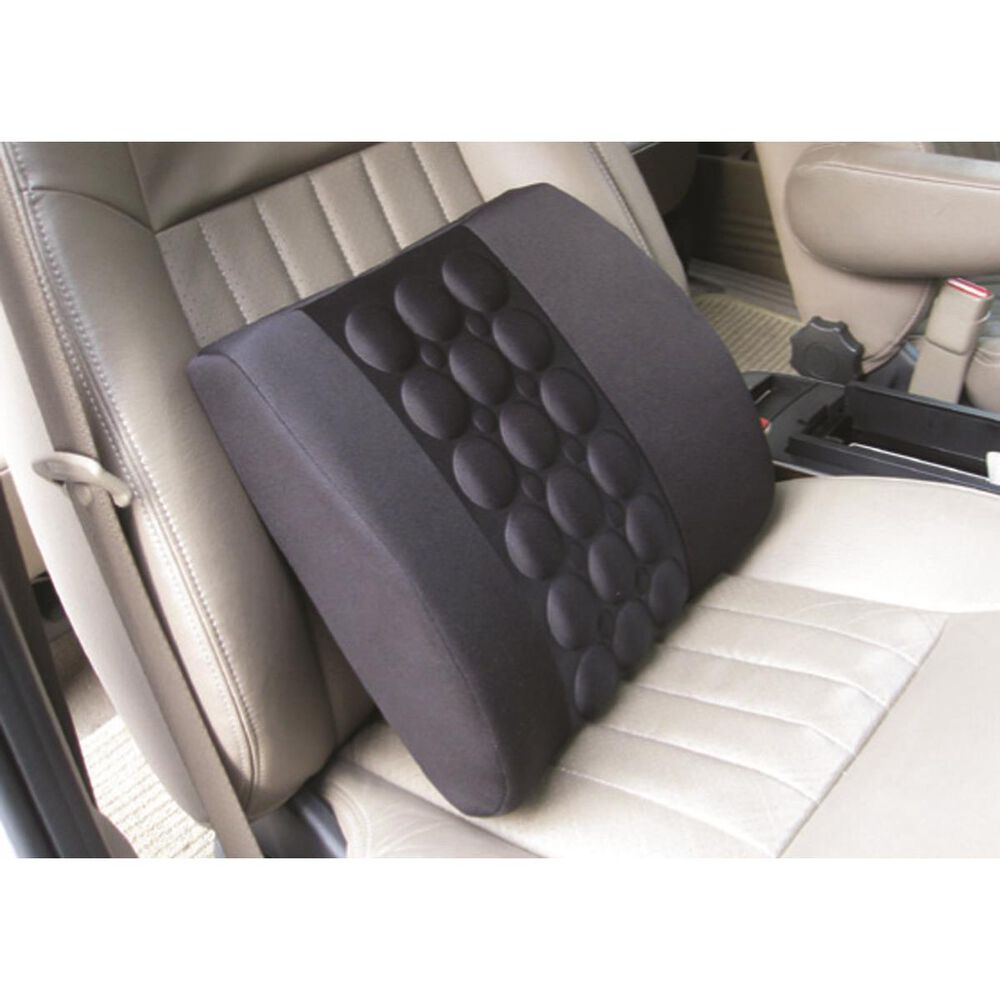Sca Lumbar Support Cushion Black Single
