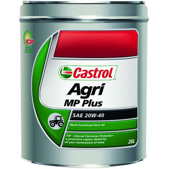 Castrol Agri MP Plus Diesel Engine Oil - 20W-40, 20 Litre, , scaau_hi-res
