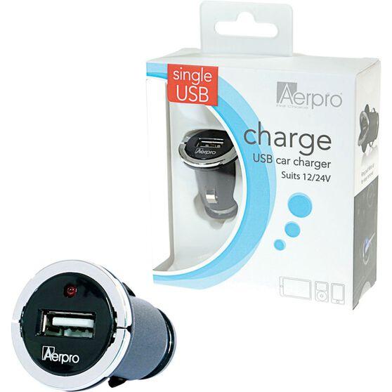 Aerpro USB Charger - 12V /24V, 2.1AMP, , scaau_hi-res