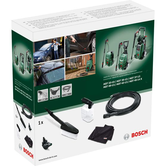 Bosch Pressure Washer Car Care Kit, , scaau_hi-res