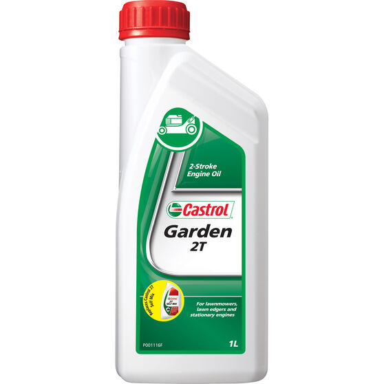 Castrol 2T 2 Stroke Lawnmower Oil - 1 Litre, , scaau_hi-res